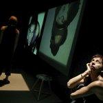 Μια εικόνα απο την παράσταση ΑΟΡΑΤΕΣ ΠΟΛΕΙΣ 1.0.