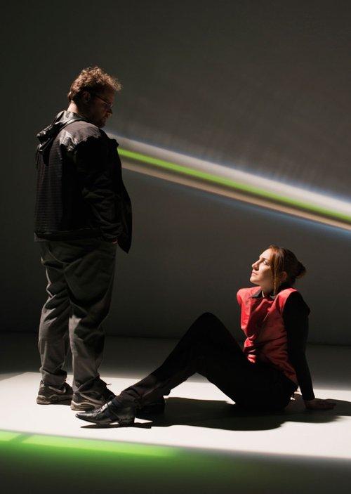 Μια εικόνα απο την παράσταση ΑΣΤΕΡΙΣΜΟΙ.