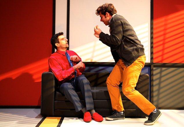 Μια εικόνα απο την παράσταση ΤΟ ΔΑΝΕΙΟ.
