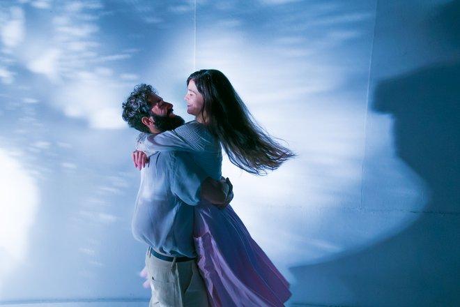 Μια εικόνα απο την παράσταση Η βοσκοπούλα.