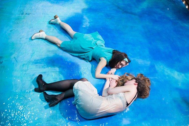 Μια εικόνα απο την παράσταση Η κυρά της θάλασσας.