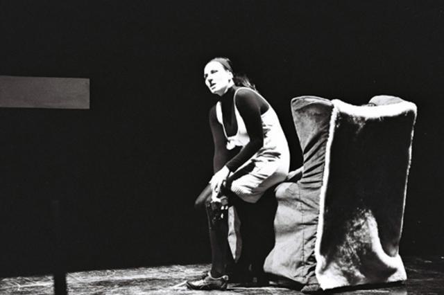 Μια εικόνα απο την παράσταση INOUBLIABLE.