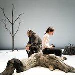Μια εικόνα απο την παράσταση ΛΑΜΠΕΝΤΟΥΖΑ στη Θεσσαλονίκη.