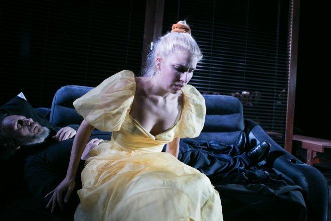 Μια εικόνα απο την παράσταση Ο γλάρος.