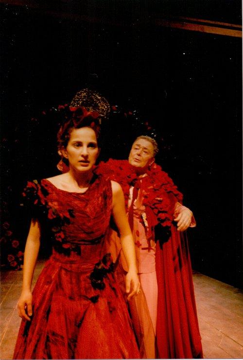 Μια εικόνα απο την παράσταση Ο ΠΕΡΛΙΜΠΛΙΝ ΚΑΙ Η ΜΠΕΛΙΣΑ.